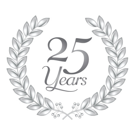 25th Anniversary Celebration Business  working Event on discount door s